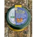 Olives vertes aux amandes et auxaux poivrons rouges - 390gr